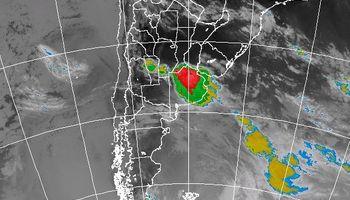 Región central: rige alerta meteorológico
