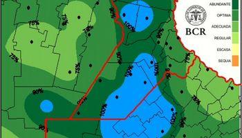 El 30% de la región núcleo se encuentra en alerta roja