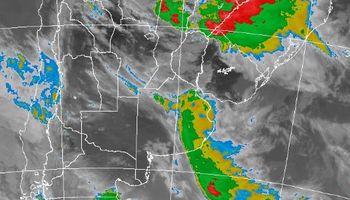 Alerta por tormentas fuertes en regiones del centro
