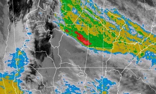 Alerta del SMN por abundantes lluvias.