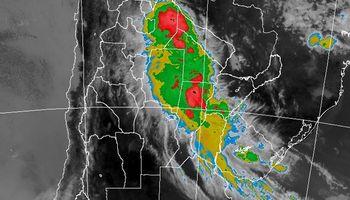 Tormentas fuertes sobre regiones del norte