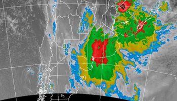Alerta por tormentas fuertes abarca a 6 provincias