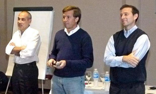Representantes de SGR Garantía de Valores, Syngenta y Molinos Río de La Plata.