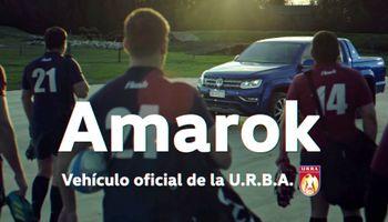 Amarok se vuelve a convertir en la protagonista del mundo ovalado del rugby de Buenos Aires