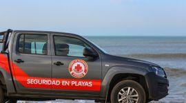 Amarok, pick up oficial de la Seguridad de Playas