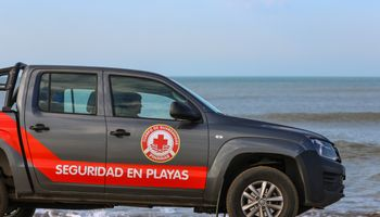 Amarok, pick up oficial de la Seguridad de Playas