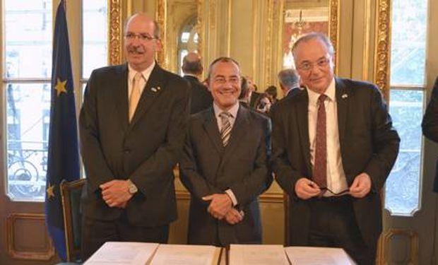 Argentina y Francia, por el agro