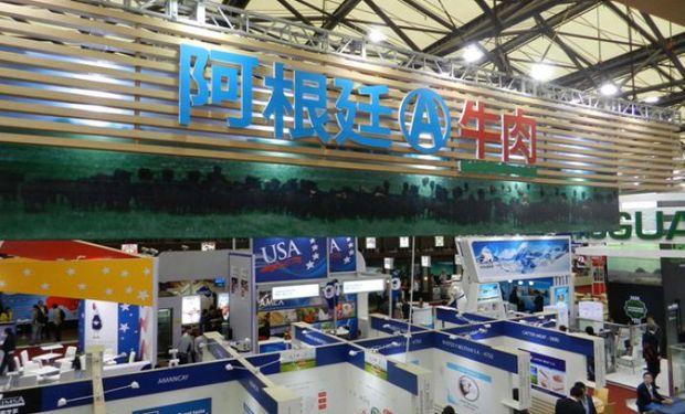La Asociación Argentina de Angus en la feria internacional que se acaba de realizar en Shanghái.