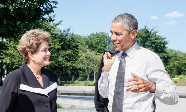 La noticia fue difundida ayer en simultáneo con una visita oficial que la presidente brasileña Dilma Rousseff realizó a su par estadounidense Barack Obama.