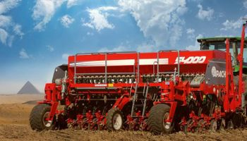 Por primera vez en la historia, se exportó una sembradora argentina a Egipto