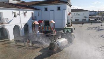 Como en España, productores de Entre Ríos se ofrecen para hacer aplicaciones urbanas de desinfección