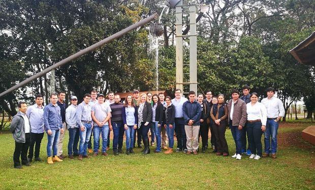 Las jornadas se realizaron en la Semillería AGRO SANTA ROSA de la Ciudad de Hernandarias, del departamento de Alto Paraná.