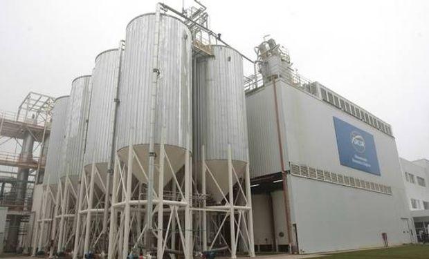 La planta de Arcor en Arroyito, Córdoba. Se convierten en el mayor procesador de maíz del país.