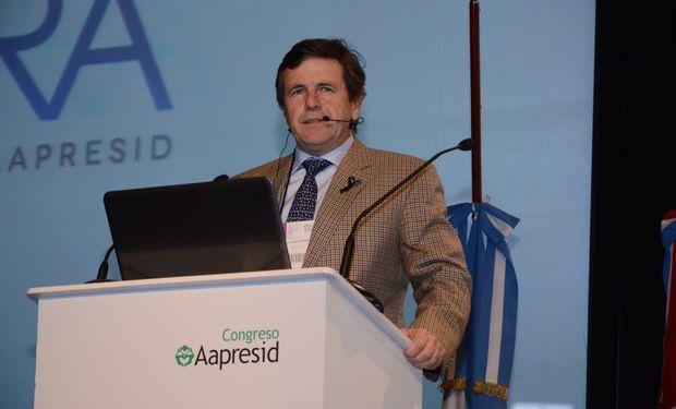César Belloso, Presidente de Aapresid. ArDig String-Agro