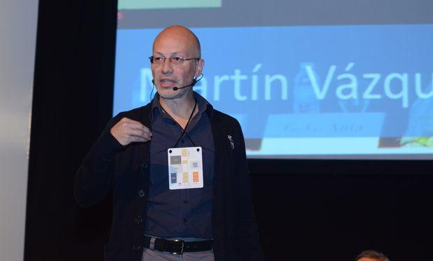 El biólogo Martin Vazquez disertó sobre los microbiomas (ArDig String Agro)