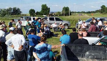 Productores autoconvocados de Santa Fe ratificaron el apoyo el paro: habrá acampe y control de carga