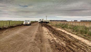 Caminos rurales: un escollo para la producción