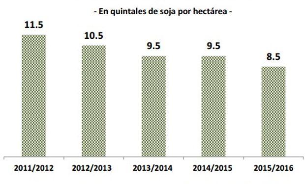 Contra la anterior campaña hubo una disminución en el promedio.