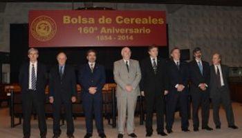La Bolsa de Cereales de Buenos Aires cumplió 160 años