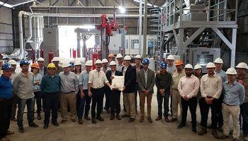 Exitosa puesta en marcha de la nueva planta Atanor en San Nicolás