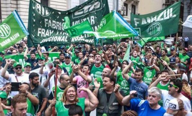 La Asociación de Trabajadores del Estado parará hoy en todo el país en rechazo a la ola de despidos .