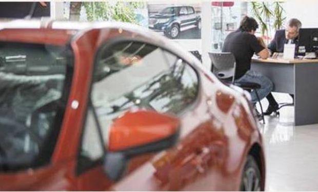 La venta de autos 0 km se hundió 35% en marzo