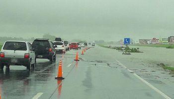 Santa Fe: se mantienen numerosos cortes tras el temporal