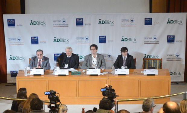 De izquierda a derecha: Carlos Steiger, Martín Piñeiro, Mariano Mayer e Iván Ordoñez.