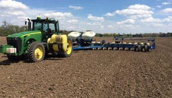Siembra de maíz avanza a todo ritmo en Estados Unidos