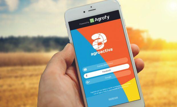 La app de Agroactiva permite acceder a toda la información sobre la muestra si necesidad de estar conectado internet.