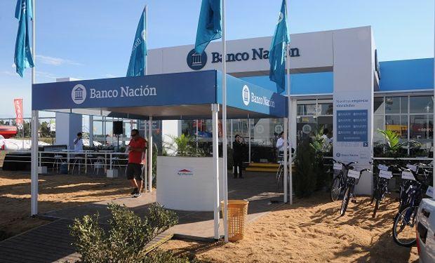 Espacio de Banco Nación en Expoagro.
