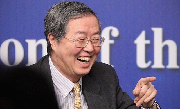 Zhou Xiaochuan, gobernador del banco central de China.