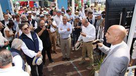Tasas fijas y en pesos: las líneas subsidiadas que presentó el Banco Nación en Expoagro