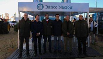 Banco Nación anunció créditos para el sector agrícola