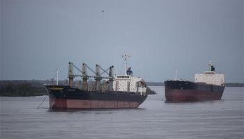 Por un conflicto salarial se acumulan barcos en la zona del Gran Rosario
