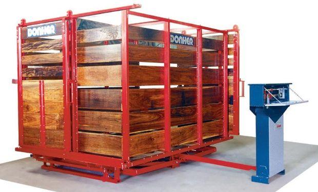 Balanza Donher Hd-6 Para Pesar Hacienda. Capacidad: 2.000 a 3.000 kg.