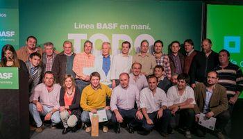 BASF realizó su tradicional Concurso Máximos Rendimientos en Maní