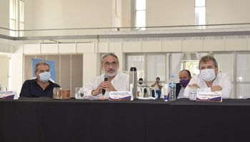 """Basterra: """"Felicito a todos los productores de trigo de Argentina"""""""