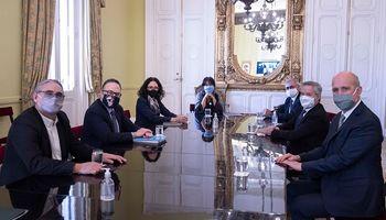 Qué dijeron Basterra, Kulfas y Solá luego del encuentro con el Consejo Agroindustrial Argentino