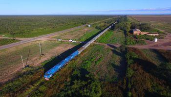 Récord: en 2 días y medio llegó a Timbúes el tren que salió de Salta con 3980 toneladas de granos