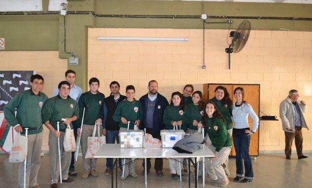 """También el Instituto Provincial de Enseñanza Agrotécnica Nº 293 """"Agr. Orestes Chiesa Molinari"""", de Bell Ville, Córdoba"""