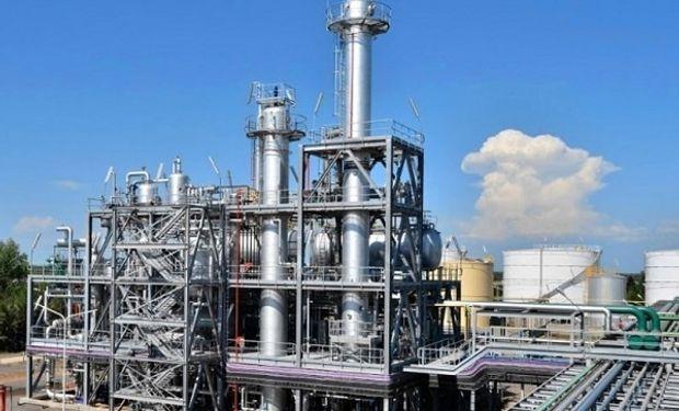 Planta de biodiesel.