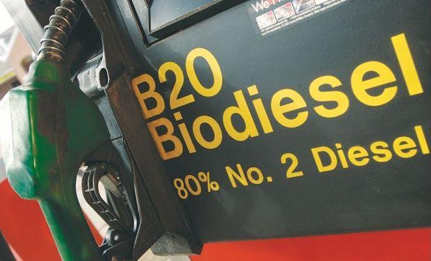 El gasoil utiliza un 10% de biodiesel para mezcla obligatoria.