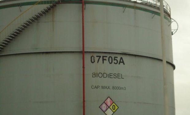 Envíos de biocombustible al mercado de los Estados Unidos completaron el mes pasado 61.350 toneladas por un total de 51 millones de dólares.