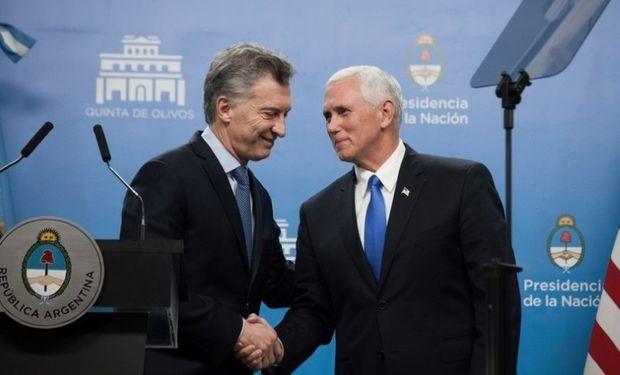Mauricio Macri le envió una carta al vice de EE.UU. Mike Pence pidiéndole una solución por el biodiésel. Ahora el Gobierno espera una pronta respuesta.