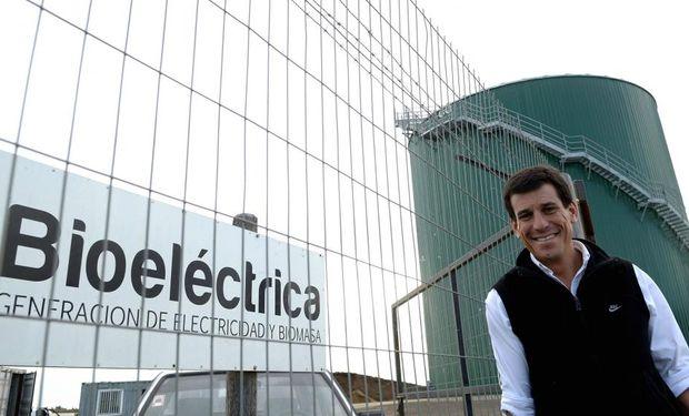 Germán Di Bella. Es el presidente de Bioeléctrica. En Alemania hay 7.000 plantas de este tipo. Fuente: La Voz.
