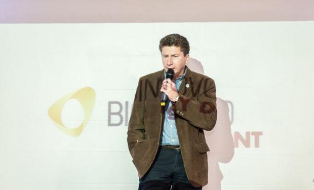 """""""Innovaciones como Bioinnovo es lo que esperamos para la Argentina"""", aseguró Sammartino."""