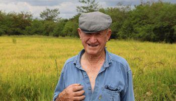 """Tiene 70 campañas como arrocero y no quiere perder más hectáreas: """"Los costos son muy elevados"""""""