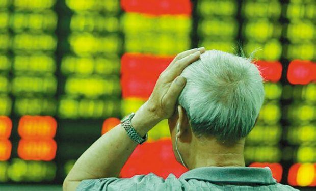 En Wall Street las caídas alcanzaron el 1%