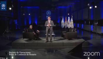 Reviví el acto por el 136º aniversario de la Bolsa de Comercio de Rosario